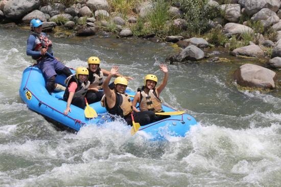 riviere chili rafting